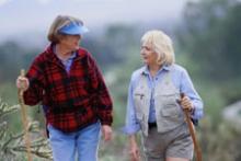Walking Slows Progression of Alzheimer's